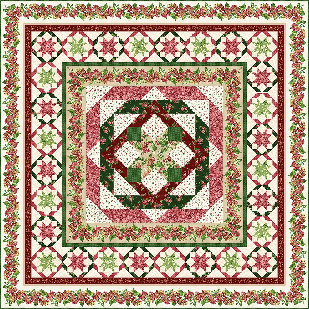 Crimson & Clover - Pattern