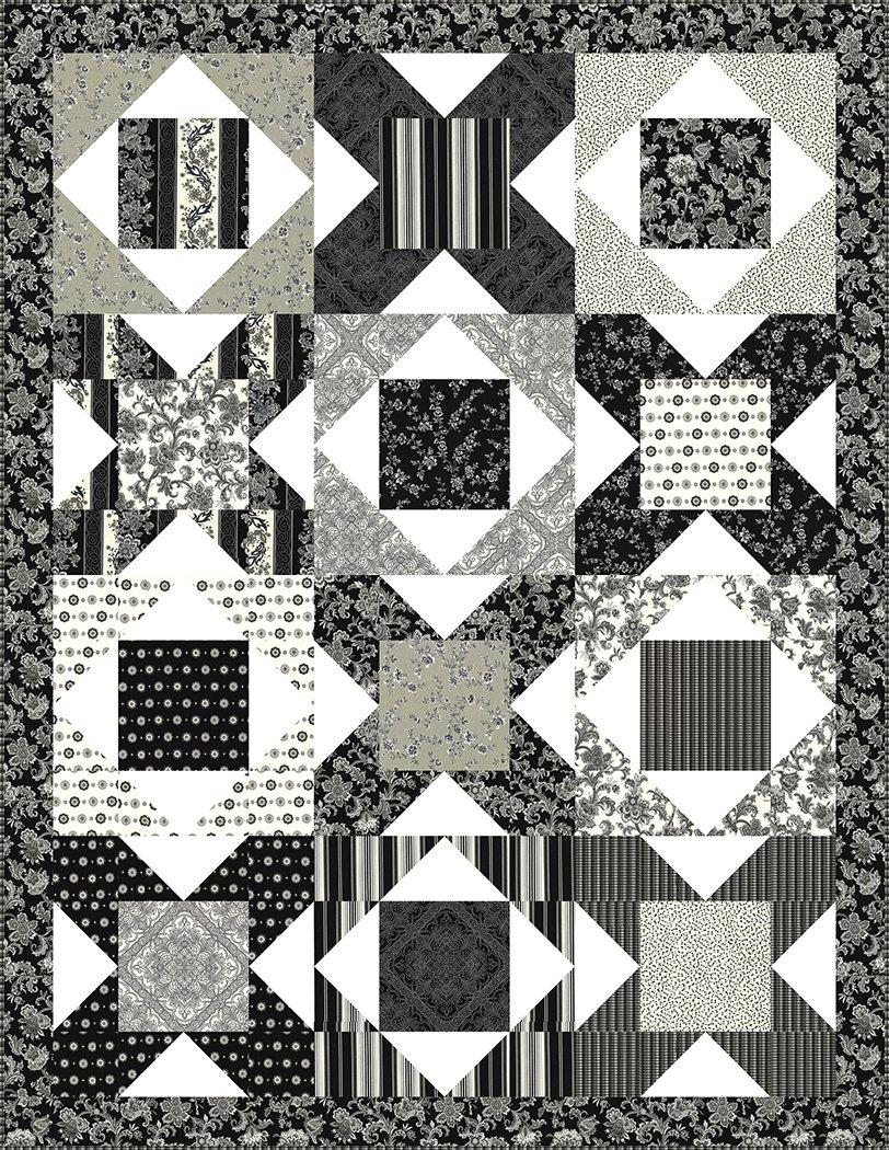 Crossroads - Fabric Kit (Black)