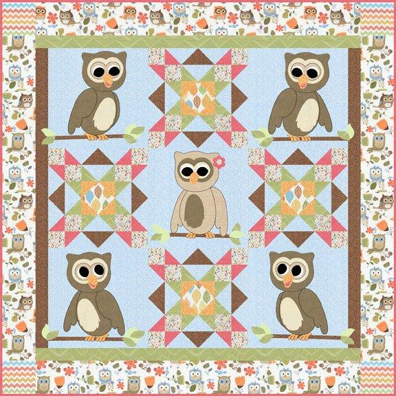 Cute Hoots - Pattern