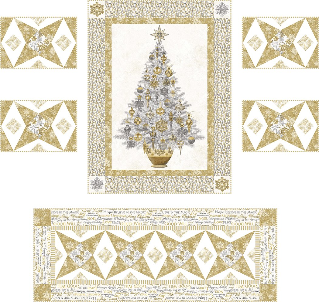 Dreaming of a White Christmas - Digital Download Pattern