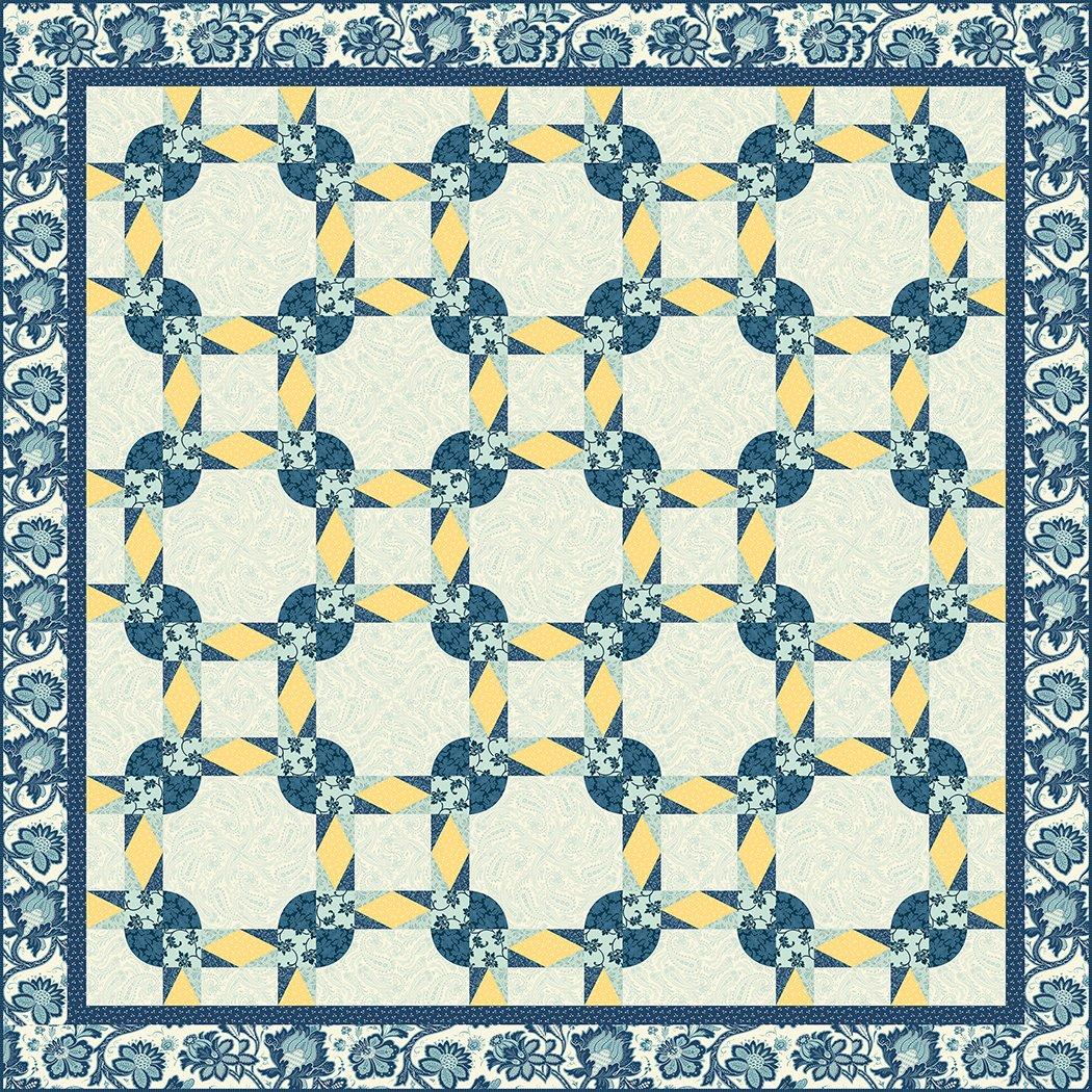 Floral Links - Pattern