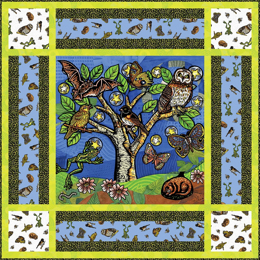 Forest Night Playmat - Digital Download Pattern