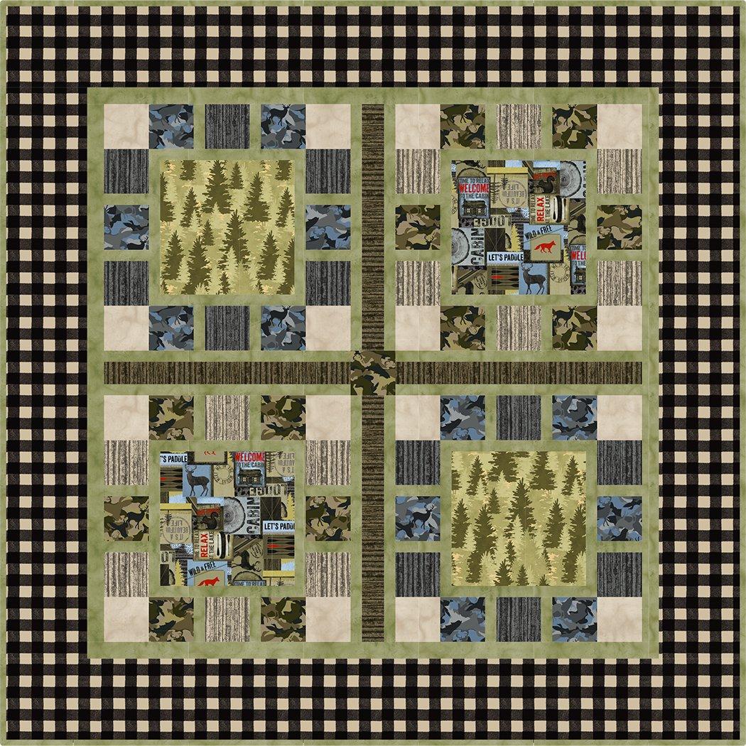 Forest Walk - Digital Download Pattern