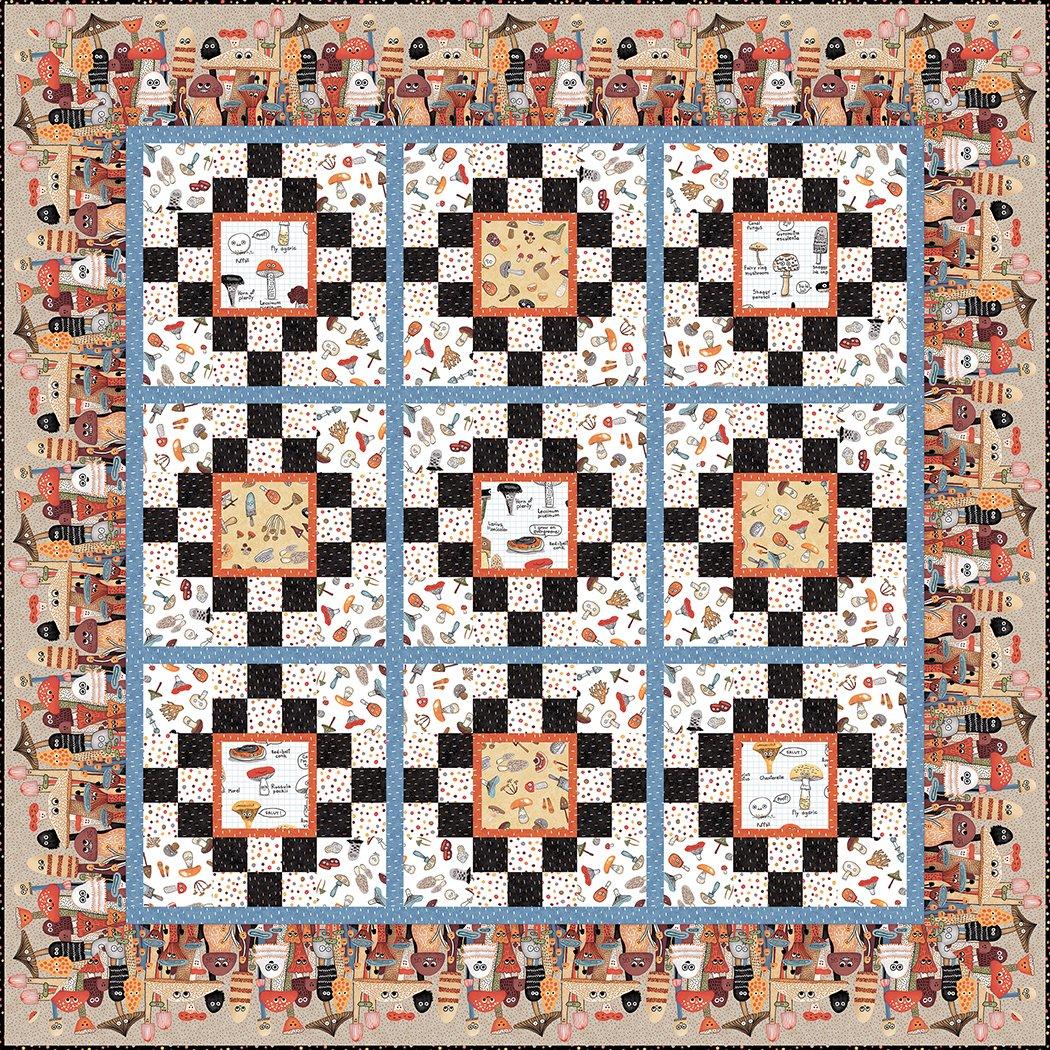 Funky Fungi - Pattern