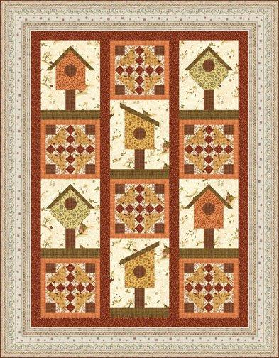 Garden Cottages - Pattern
