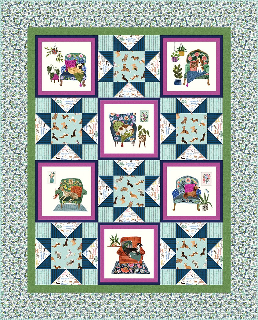 Going to the Dogs - Pattern