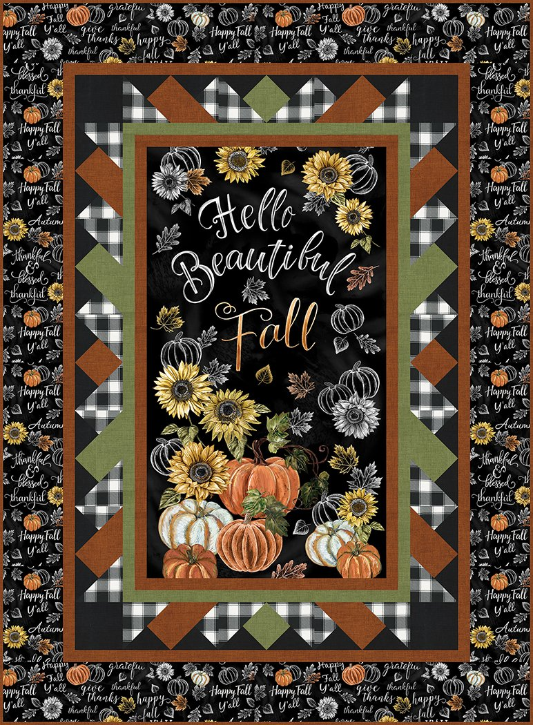 Happy Fall - Pattern