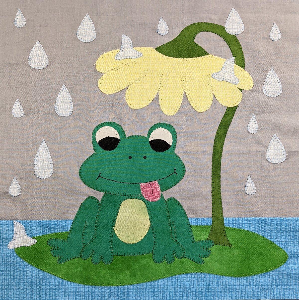 **FREE** I Love Rainy Days - Block Pattern