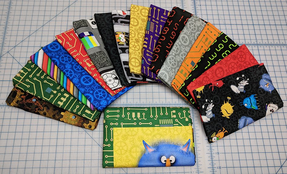 Matthew's Mini Monsters - Fat Quarter Bundle
