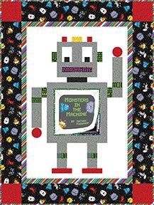 My Robot Pal - Fabric Kit