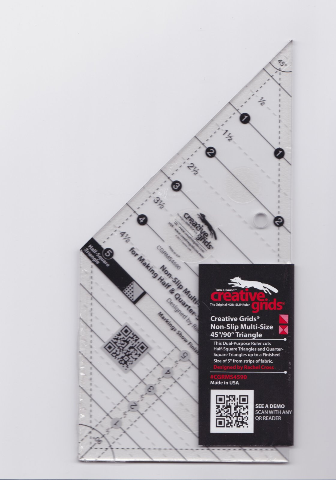 Creative Grids Multi Size Triangle Ruler