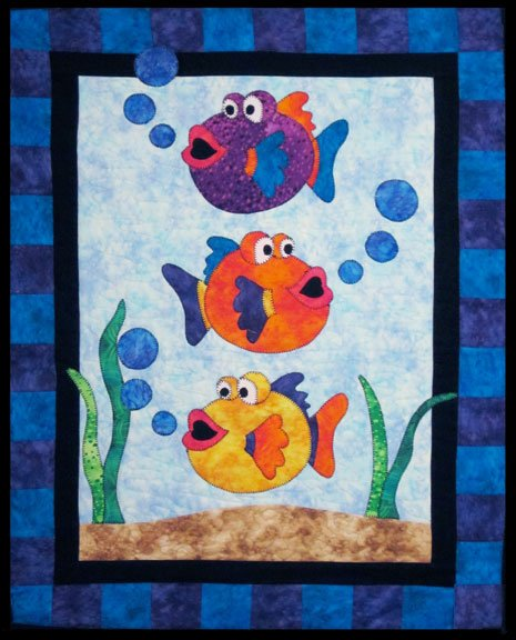 One Fish, Two Fish - Digital Download Pattern