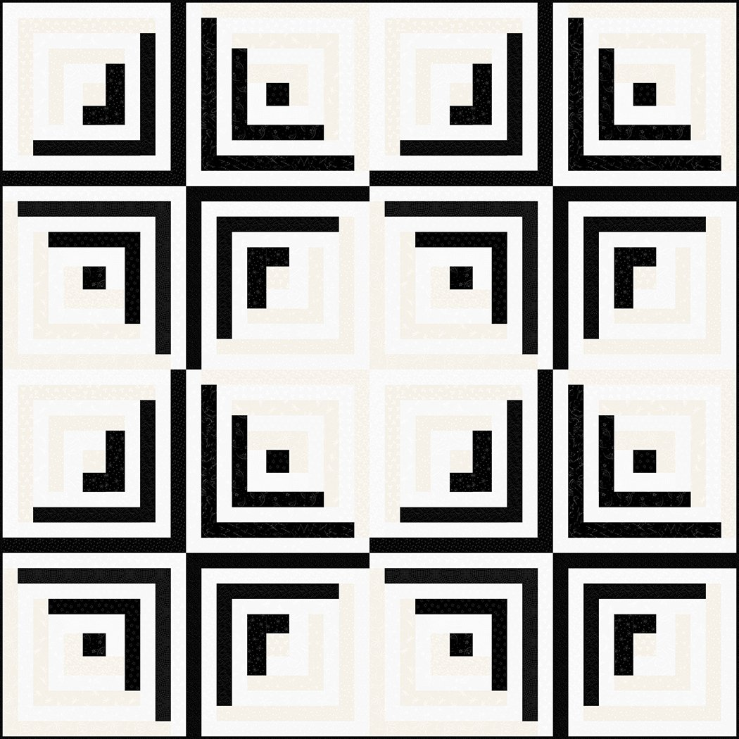 Optical Illusion - Digital Download Pattern