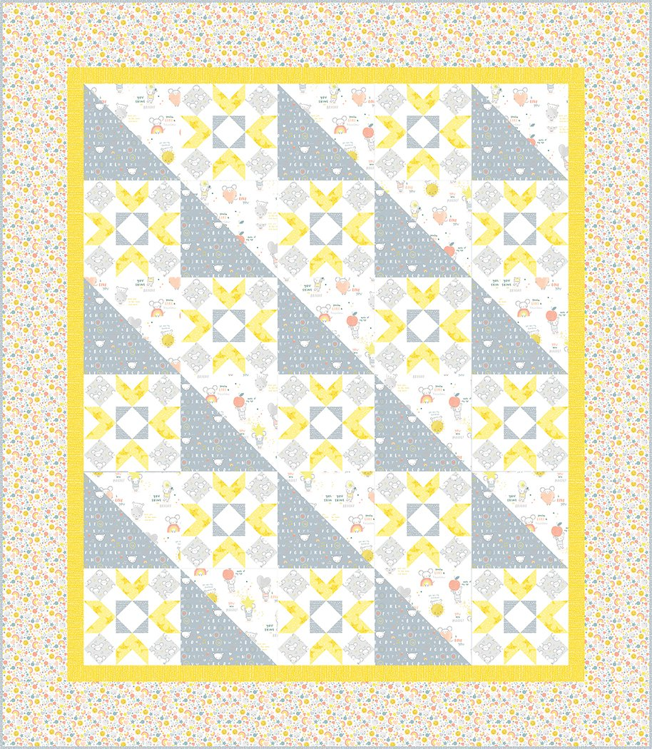 Partly Cloudy - Digital Download Pattern