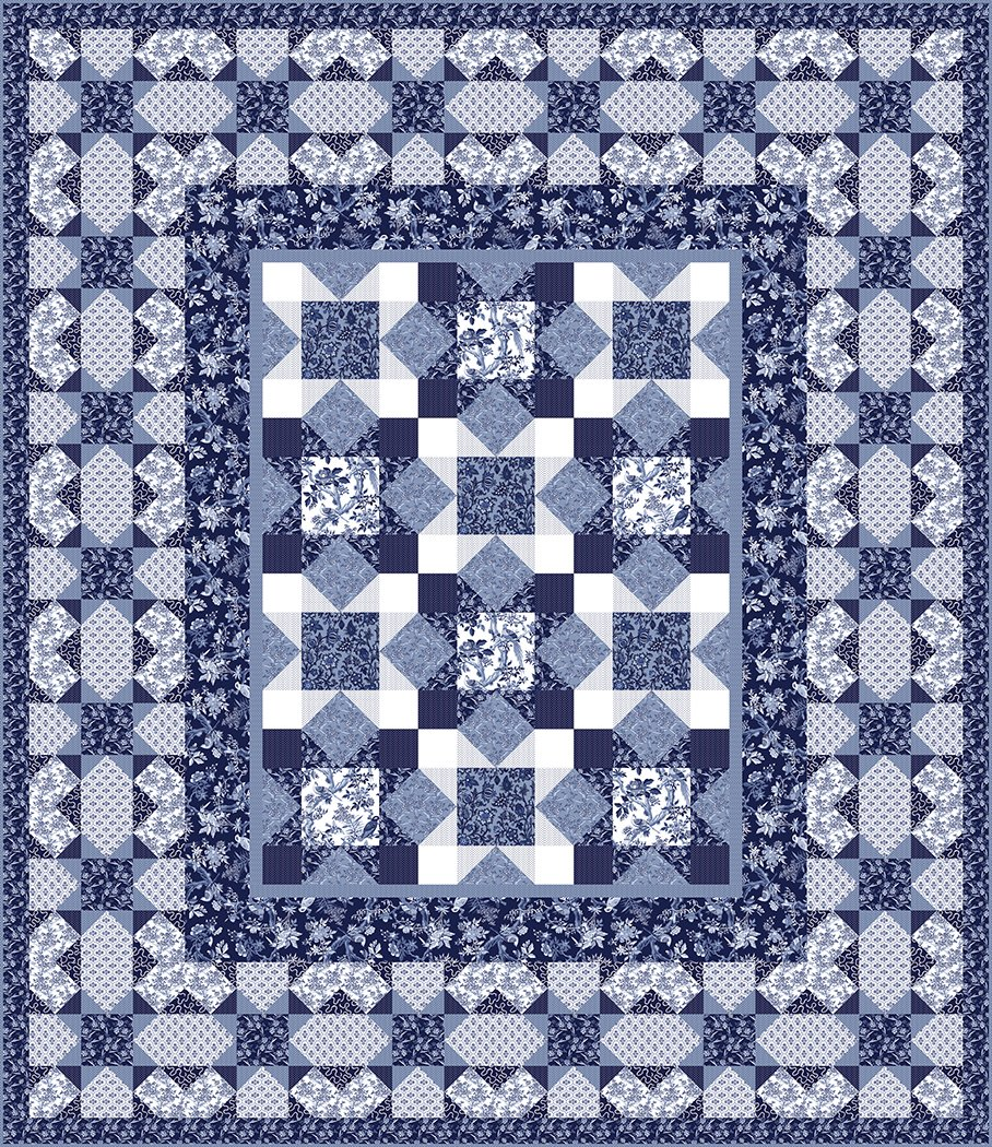 Peaceful Paisley - Digital Download Pattern