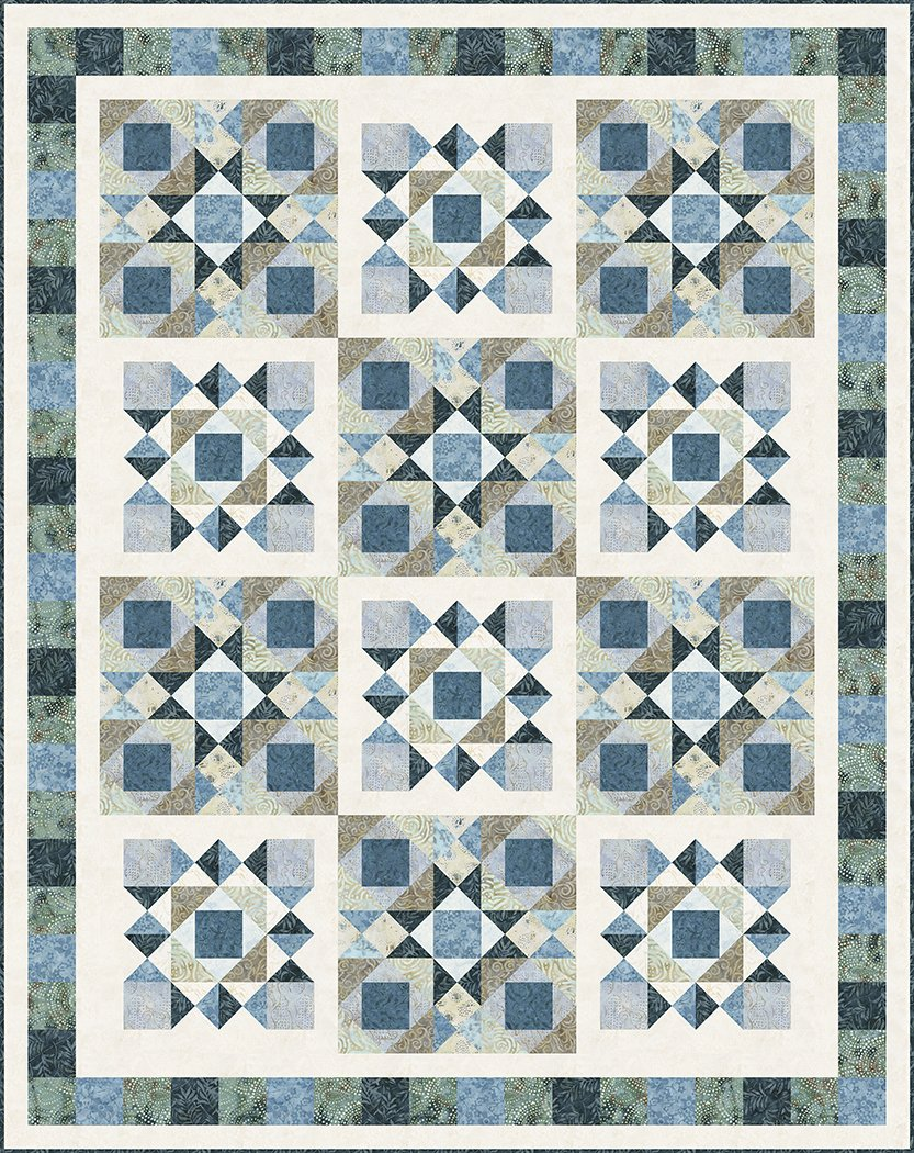 Pebbles in the Sand - Digital Download Pattern