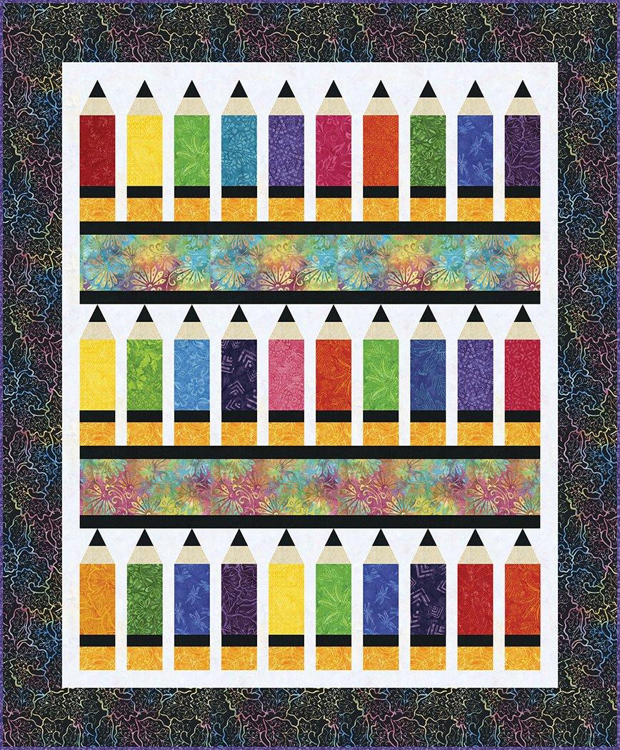Pencil Box - Digital Download Pattern