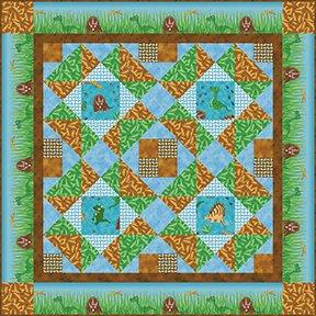 Prehistoric Patchwork - Fabric Kit
