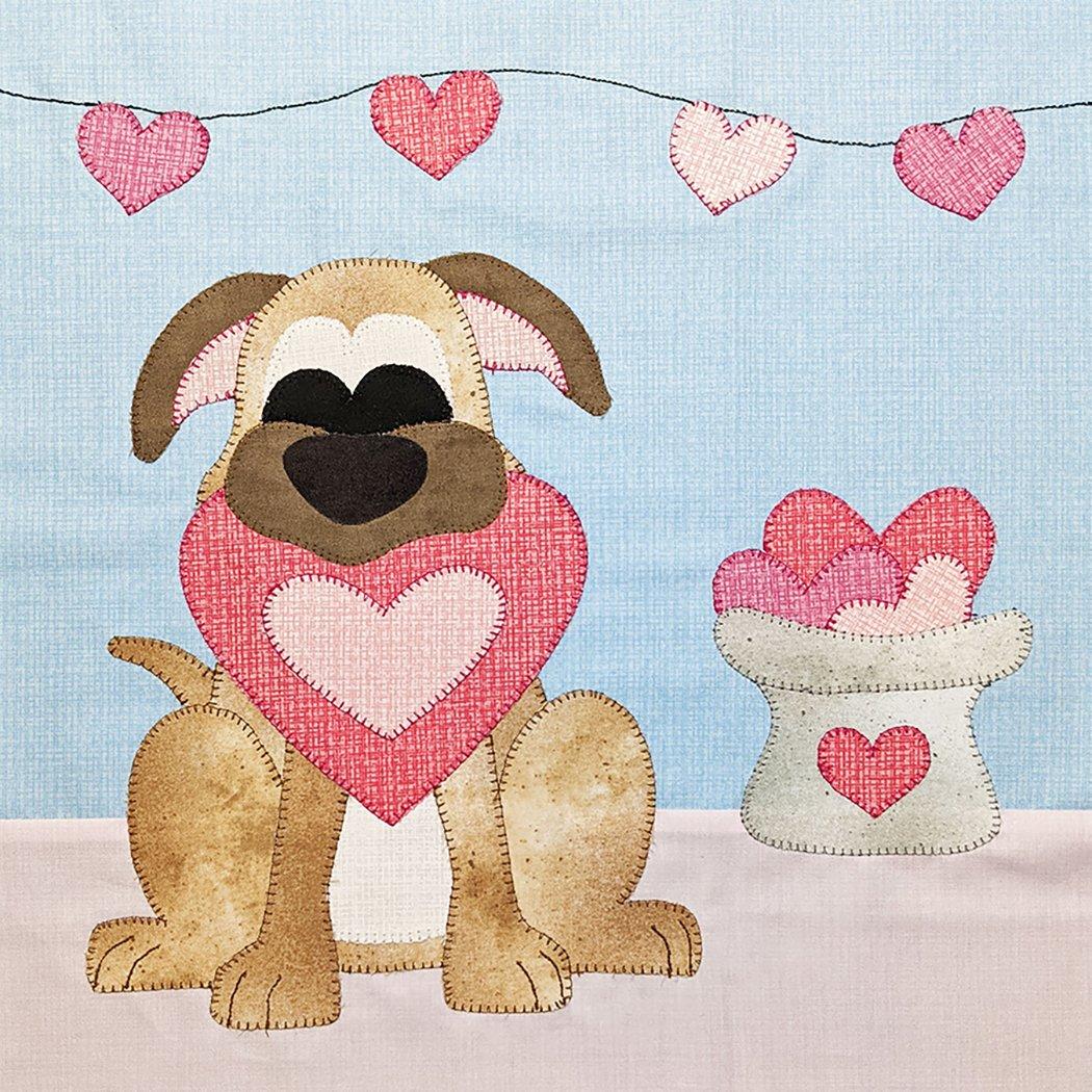 ** Puppy Love - Block Pattern