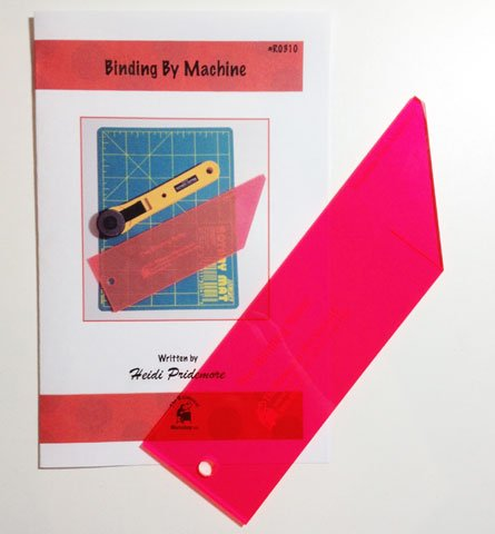 Binding Tool for 2-1/2 Binding with Binding by Machine Instructions