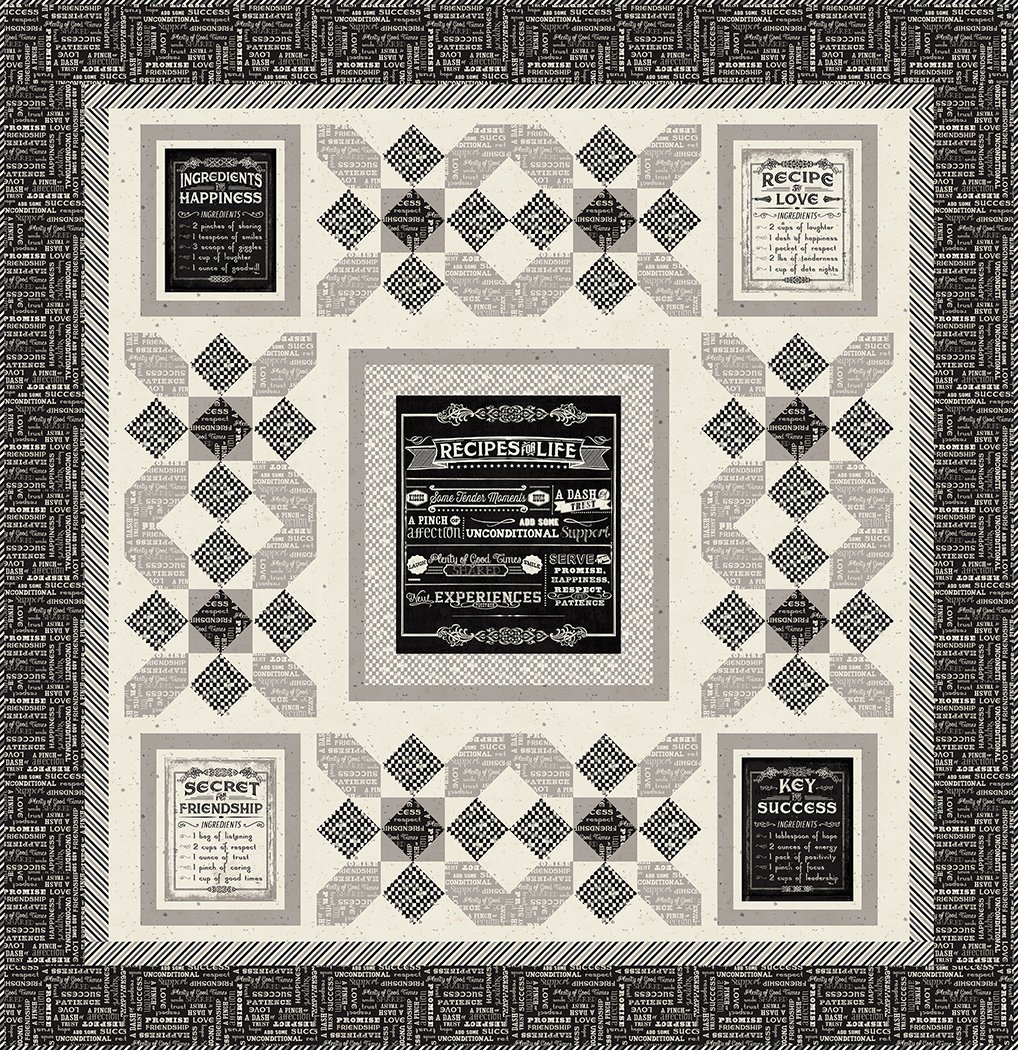 Recipe for Happiness - Digital Download Pattern