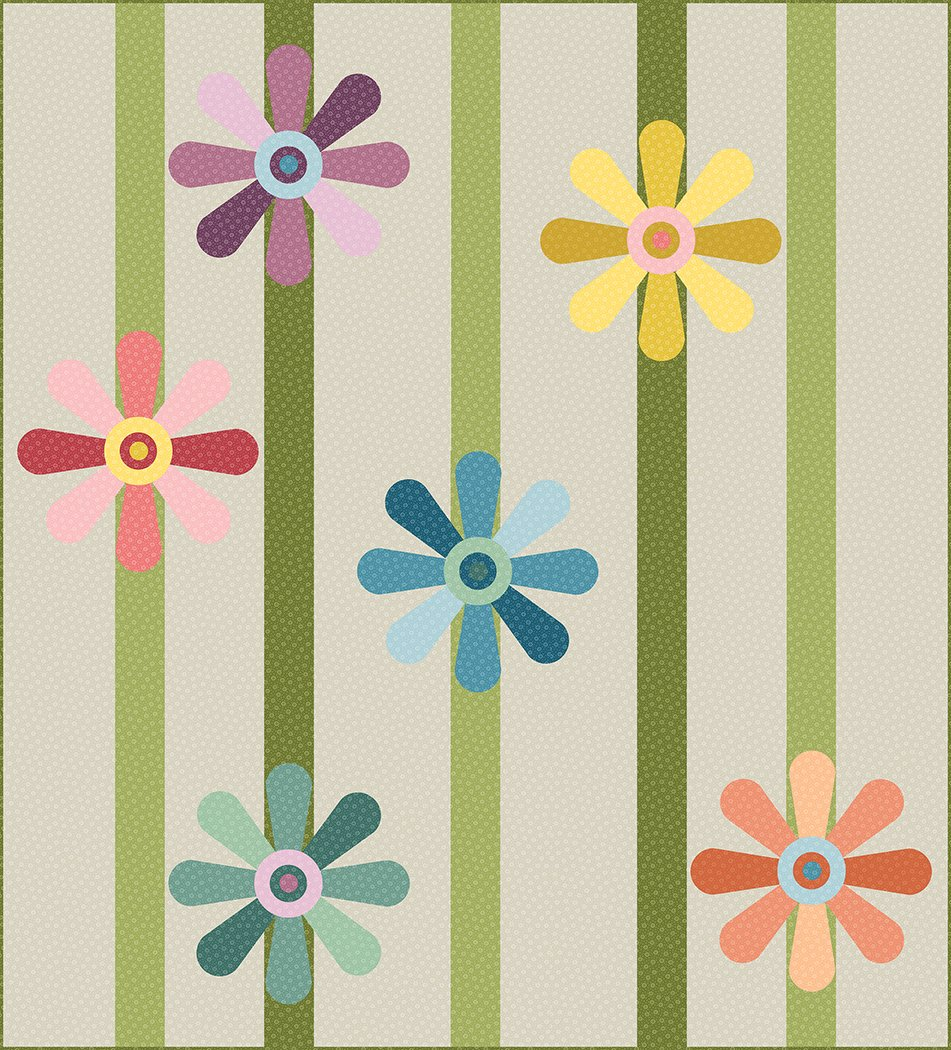 Spinning Daisies - Digital Download Pattern
