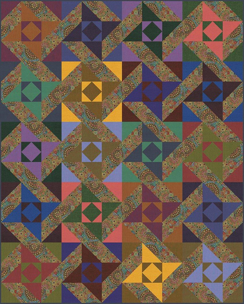 Spinning Stars - Digital Download Pattern