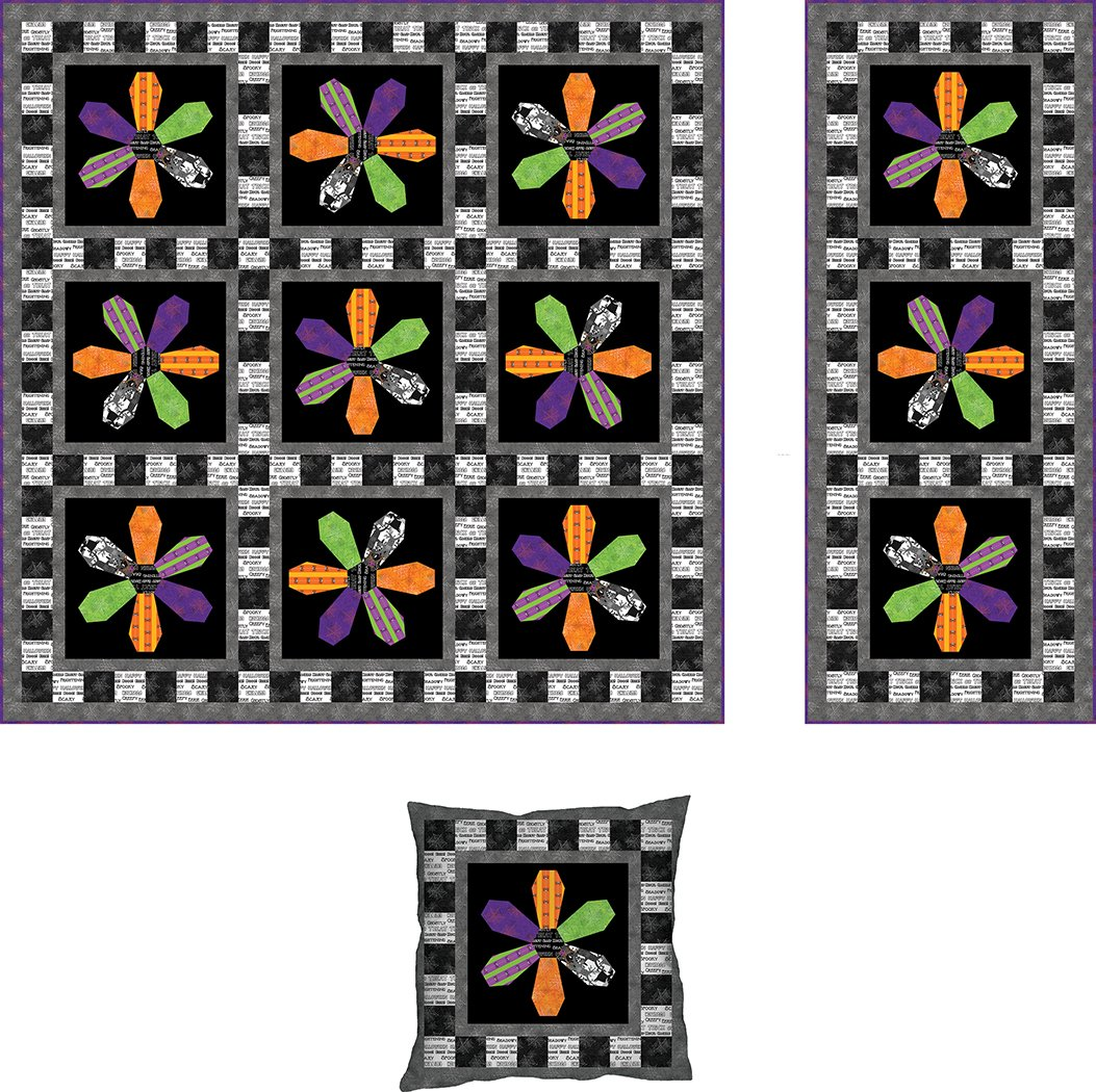 Spooky Blooms - Digital Download Pattern
