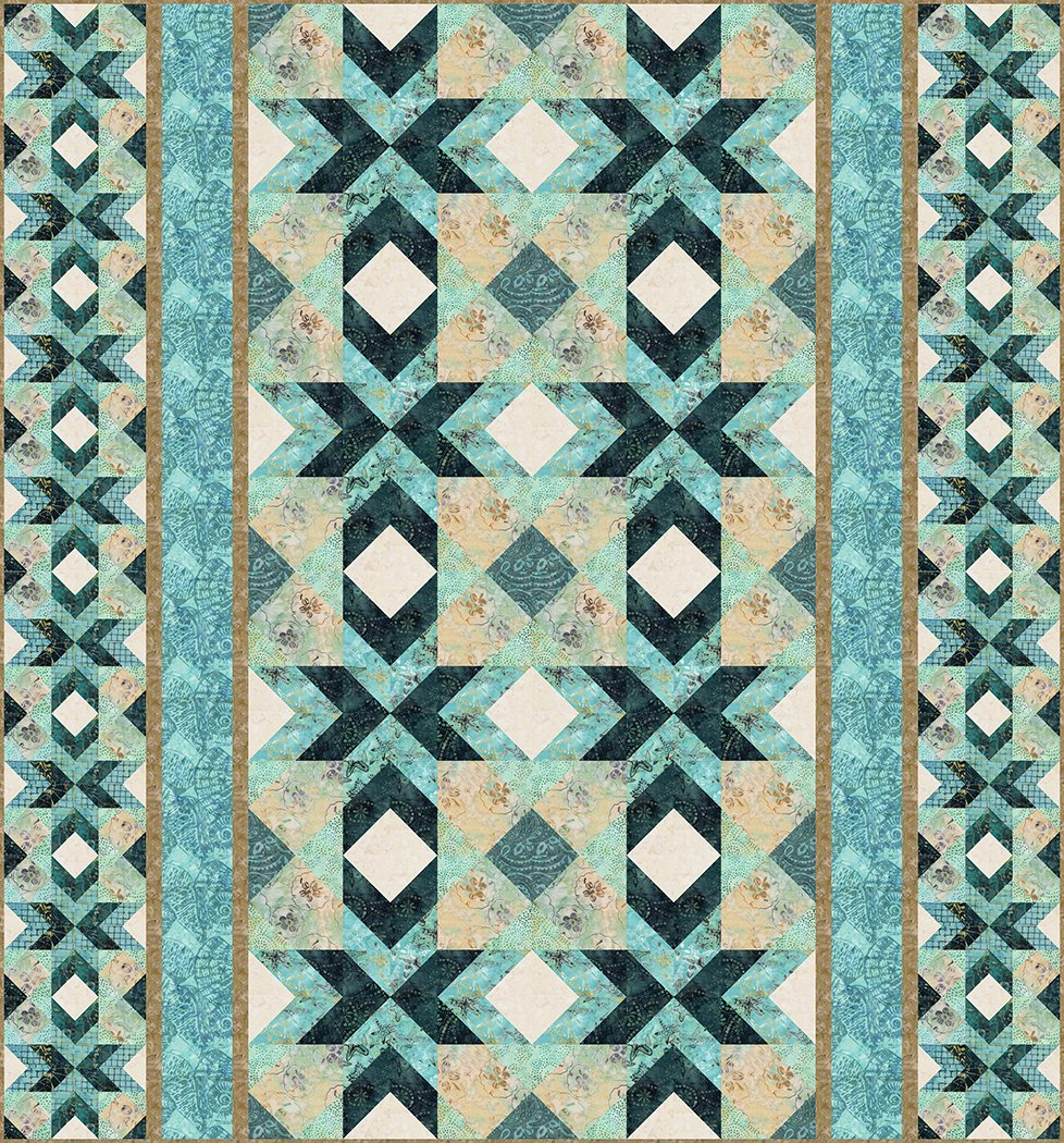 Starfish in the Sand - Digital Download Pattern