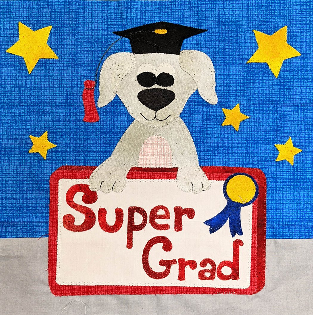 **FREE** Super Grad - Block Pattern