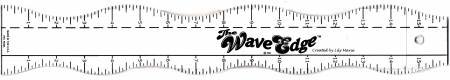 The Wave Edge Ruler