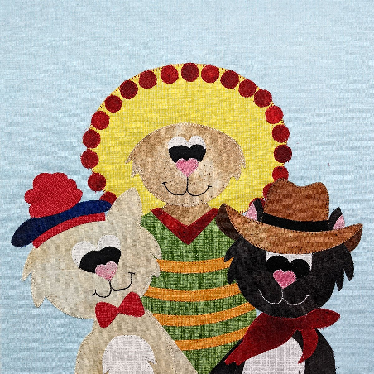 **FREE** Three Amigos - Block Pattern