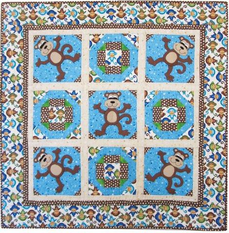Tumbling Monkeys - Pattern