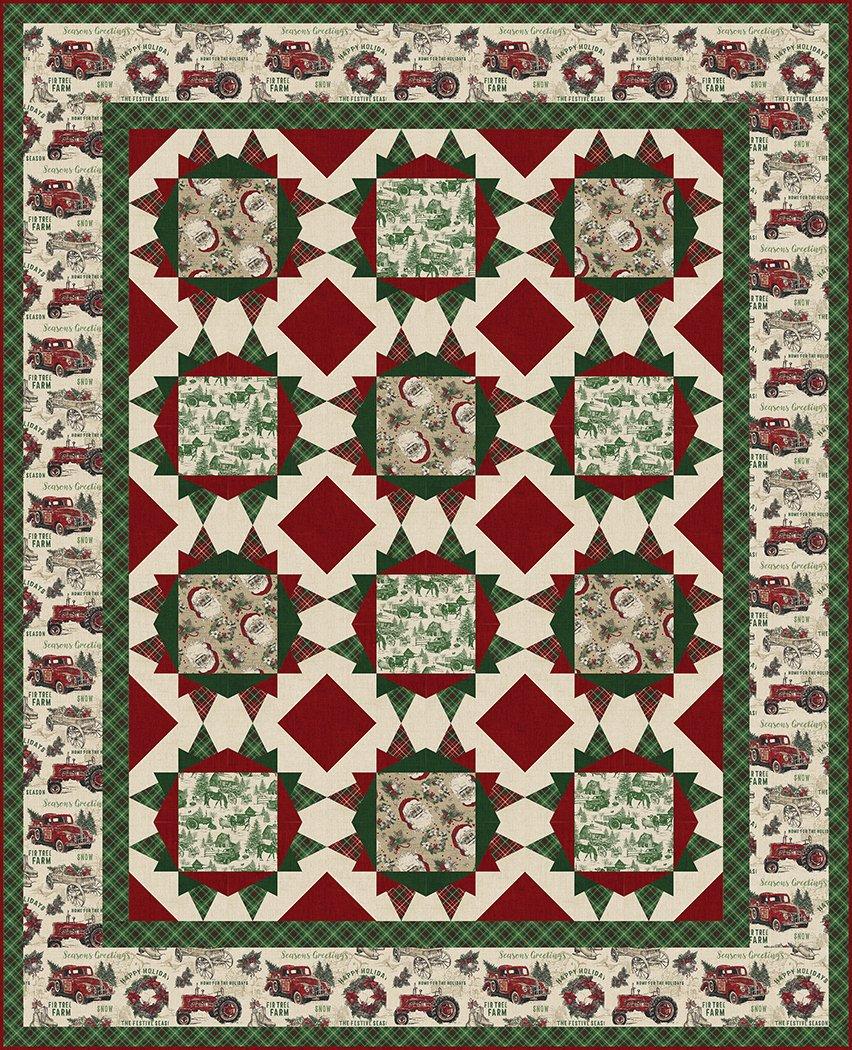 Vintage Holiday - Digital Download Pattern