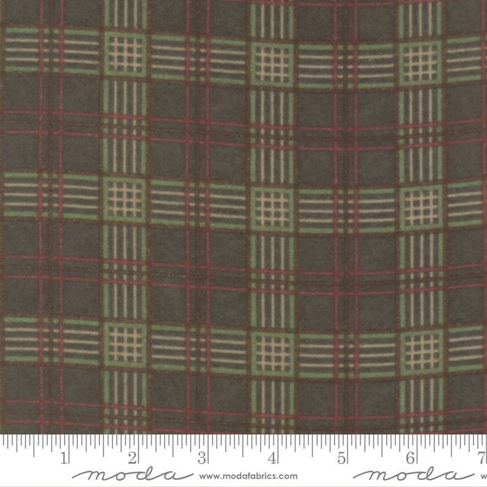 Fall Impressions Flannel -  Forest Plaid