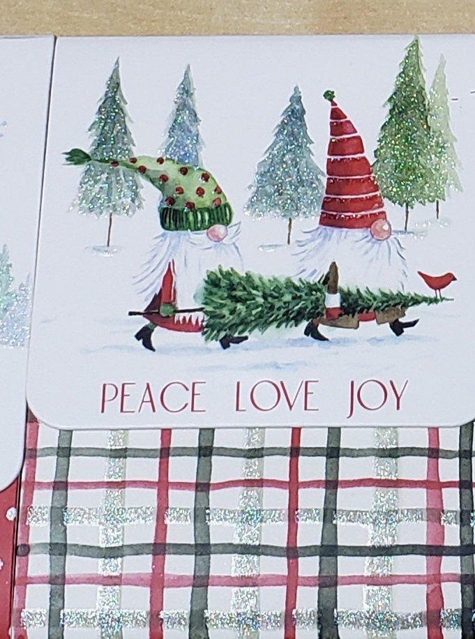 Gnome Notepad Peace Love Joy