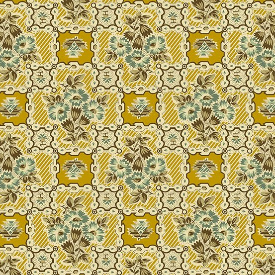 Maling Road Shop Tile Gold