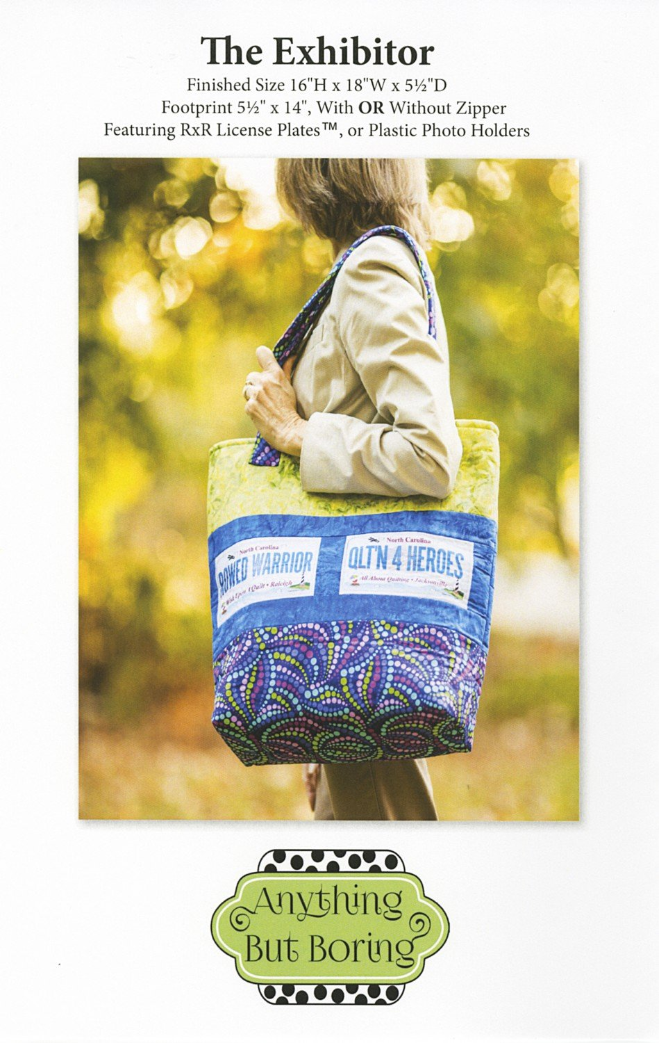 The Exhibitor bag pattern