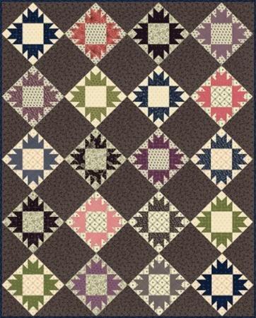 Betsy Chutchian Bear Tracks pattern