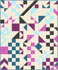 Cryptic Rapture Quilt KIT 60 x 72