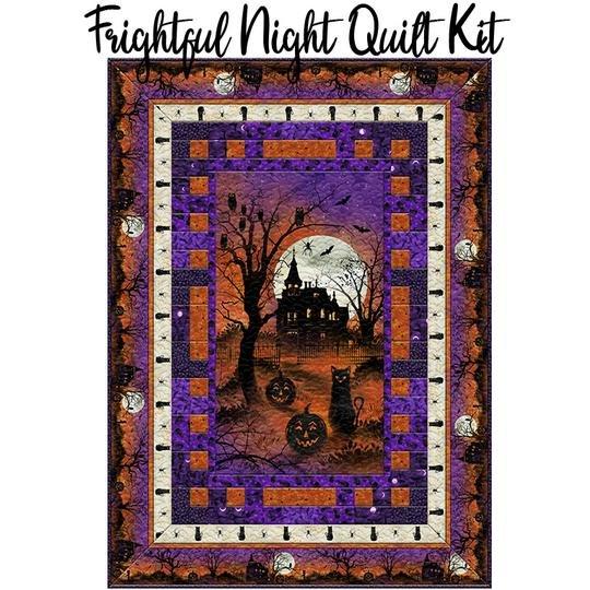 Frightful Night Quilt KIT 51 x 71