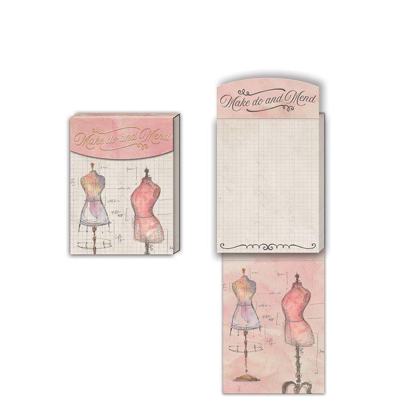Make Do and Mend pocket notepad