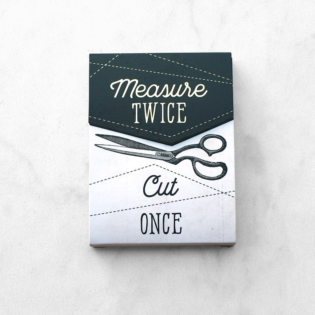 Measure Twice Pocket notepad