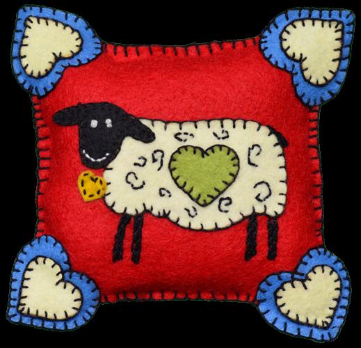 Lumenaris Sheep Pincushion Wool Kit