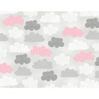 One Sheep, Two Sheep Clouds on Grey