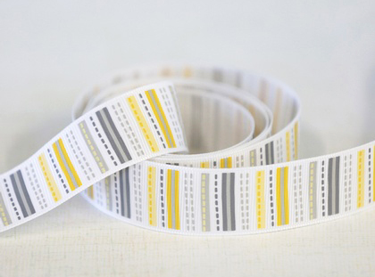 Ribbon Dashing Yellow by Adorn It