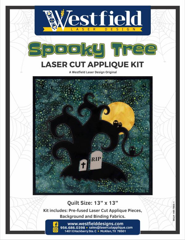 Spooky Tree Laser Cut Kit