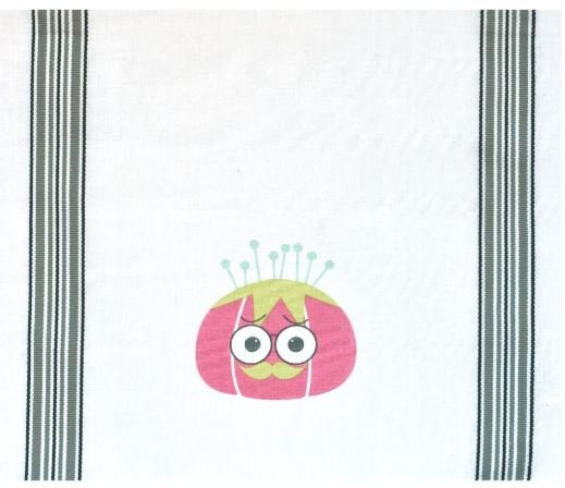 Sew Much Attitude Towel Tomato Pincushion