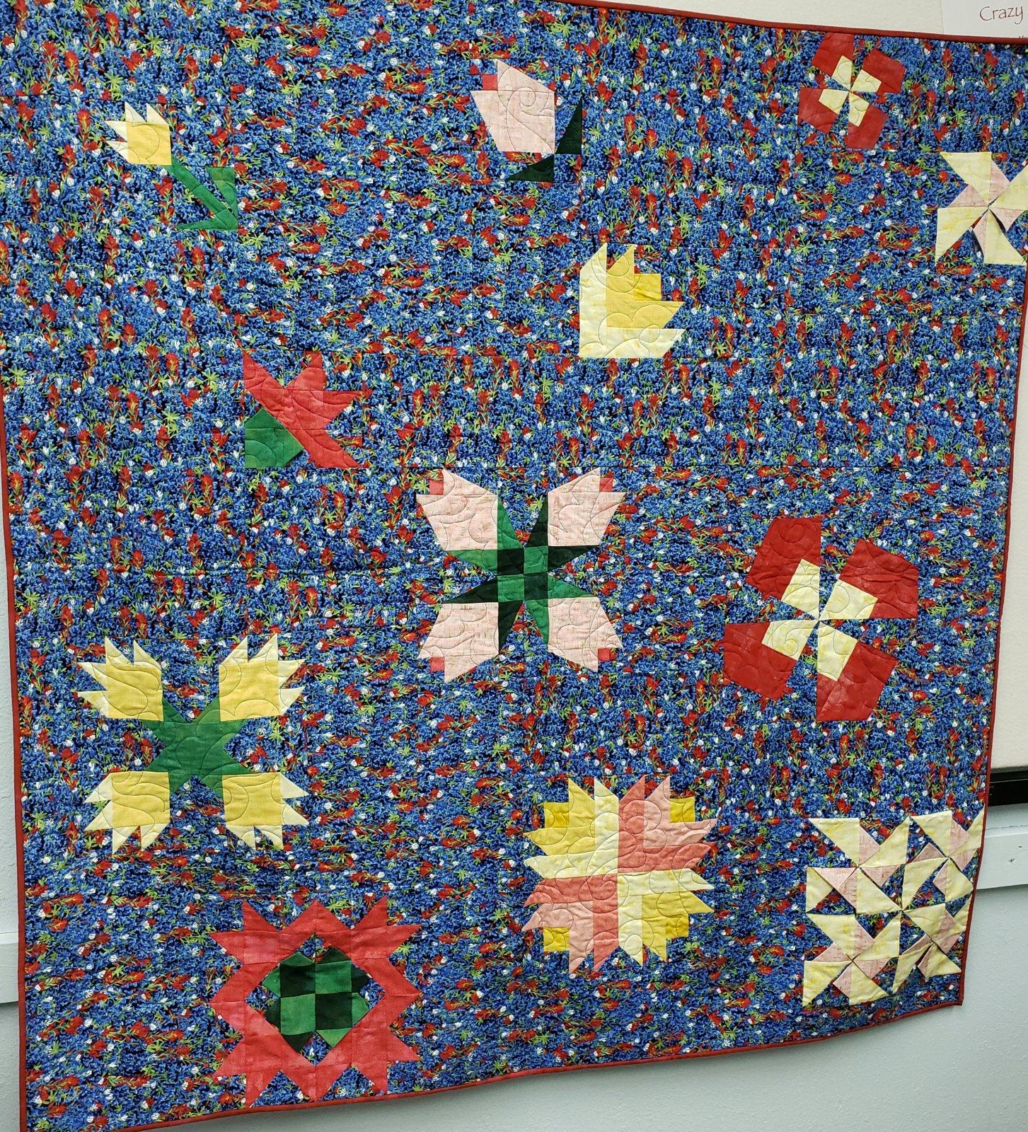 Wildflowers Quilt 2019 Finishing Kit