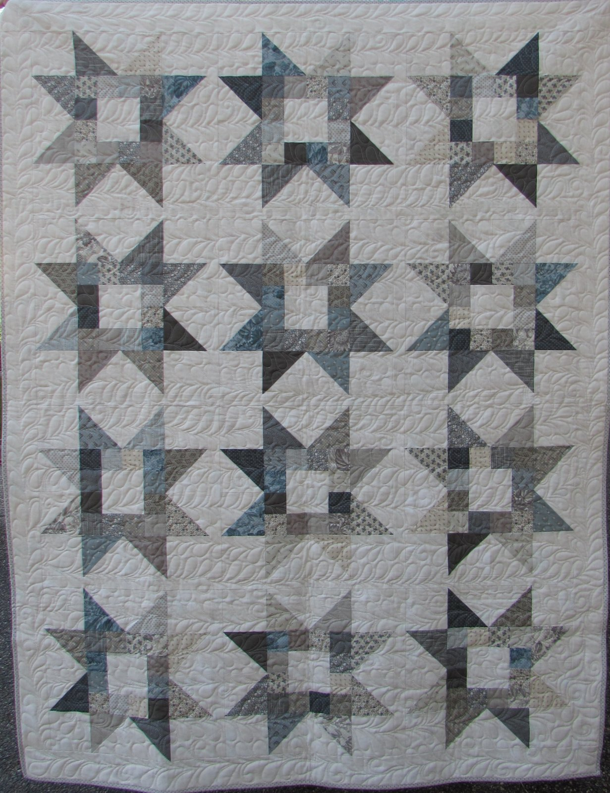 Quilty Stars Quilt kit